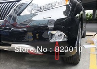 Free Ship High Quality for 2010 11 Lexus RX270 RX350 Front Fog Light Lamp Cover Trim 2pcs ABS