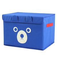 good quality big Cartoon bear i9853 oxford fabric sundries storage box finishing box toy storage 6 colors  to choose