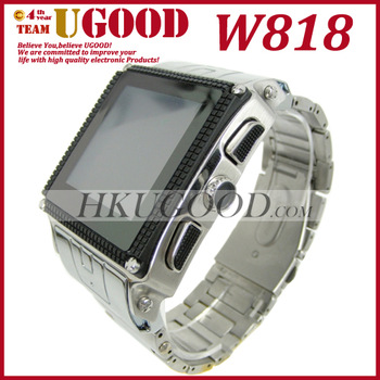 SG Post Freeshipping! Hot Selling W818 Waterproof Watch Cheap Mobile Phone, Single Sim, Water Proof Grade IP67 with Camera
