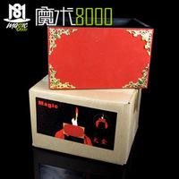 Box box silk scarf box magic props