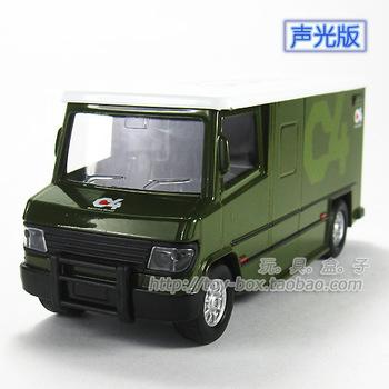 C4 356 car plain alloy WARRIOR car model toys