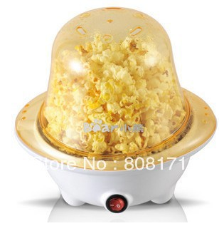 Mini Bear Shape Cute Hot Air Popcorn Machine Popper Pop Corn Maker DIY Kitchenwear Party Gift to Kids with EU Plug 110v~230v(China (Mainland))