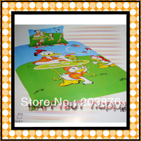 Donald Duck boys Cartoon Kids Four-piece Bedding Set Gift Wholesale Free Shipping