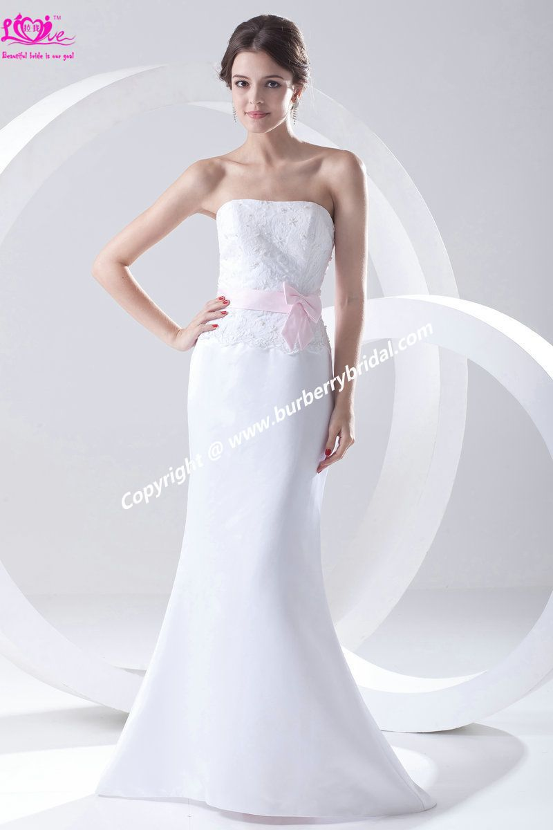 2013 New Custom Made Lace Beading Strapless Mermaid Satin Reasonable Price Prom\Evening\Party\Cocktail Dress\Gown(China (Mainland))