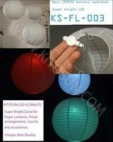 free shipping  Led lighting for Paper party lanterns decoration - large chinese japanese lanterns