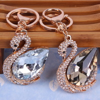 Free Shipping  Latest Colorful Rhinestone Keychain Bags B459090
