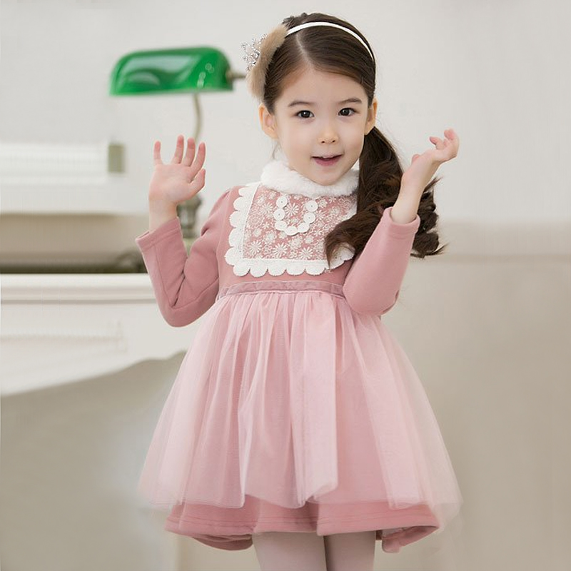 Radish children's clothing female child autumn and winter 2012 long-sleeve child dress princess dress g220(China (Mainland))