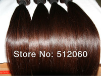 "100% virgin peruvian human hair weft, natural straight, Grade 5A,unprocessed hair , 4pcs/lot, 12""-30"""
