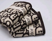 Hot!fashion Free Shipping 100% Cotton 38cm*76m Thicker Softness and Comfortable Hand Towels Towels 2pcs/LOT