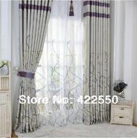 Living room luxury minimalist modern abstract curtain fabric / custom / shading Special / bedroom
