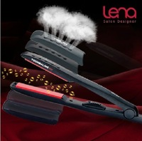 Leno hair straightener LN82 professional Wet and dry ion ceramic glaze electric splint straightening irons styling tools