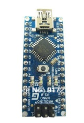 For arduino Nano 3.0 Atmel ATmega328 Mini-USB Board with USB Cable Free Shipping(China (Mainland))