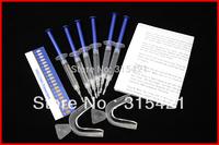 1packs Teeth Whitening Tooth Bleaching Kit 44% Whitener 18ml System Dental Trays