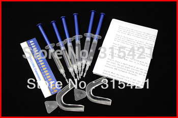 1packs Teeth Whitening Tooth Bleaching Kit 44% Whitener 18ml System Dental Trays