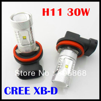2013 Newest H11 30W Xenon White H4,H7,H8,H11,H16,9005 HB3 9006 HB4,1156 P13W CREE High Power Fog Light Driving Headlight DRL