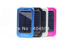 30pcs 5000mAh Solar Power External Backup Battery Charger For iPhone 4s 5 iPad Sumsung Blackberry HTC Nokia