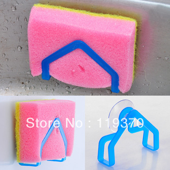 (min order is $9.99)Wash cloth rack suction cup sponge holder clip dishclout storage rack e020-0.04