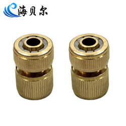 Copper quick connector quick connector water connection 16mm water pipe single(China (Mainland))