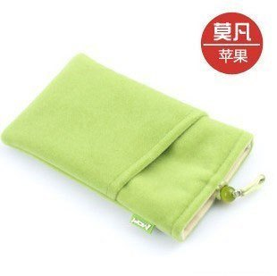 Mo fan for apple for iphone 3gs 4g 4 m8 m9 w700 echinochloa frumentacea mobile phone case flannelet bag(China (Mainland))