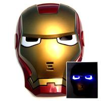 Led lighting mask Iron Man