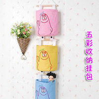 Free shipping cheapest Japanese style derlook oxford fabric colorful storage bags 5 colors BH001