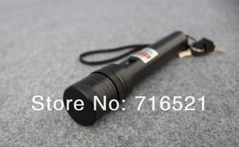 Free Shipping Green Laser Pointer 200MW  Laser Pen adjustable star burning match