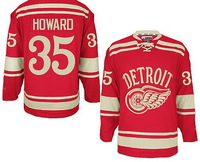 5-9days Free shipping 2014 Winter Classic Ice Hockey Jerseys Detroit Red Wings #35 Jimmy Howard Premier Jersey for Cheap
