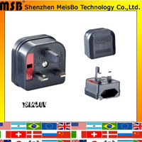 Worldwide 13A 250V ABS material Aus to Aus  Adaptor plug for telephone  500pcs/lot free shipping by fedex