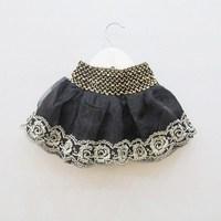 2013 spring summer female child lace decoration yarn layered  bust  princess  dress