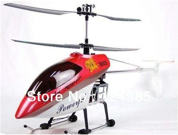 new!!Big Deluxe 105cm 3.5Channel Gyroscope System metal Frame QS8005 RC Helicopter Toy with LED lights RTF ready to fly 8005