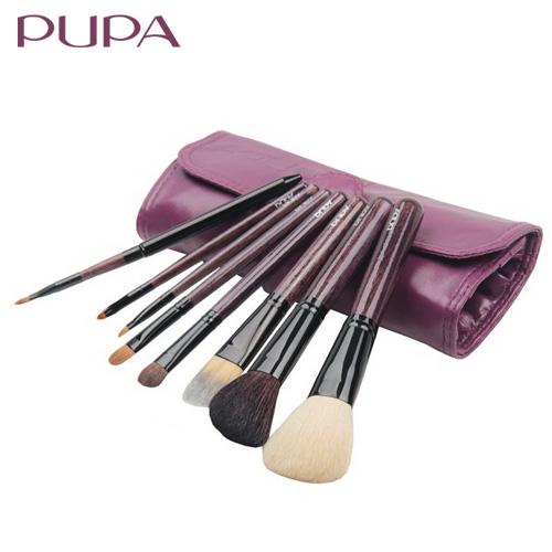 Pupa 8 sable brush set brush set tools make-up brush powder brush full set(China (Mainland))