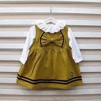 2013 spring female child british style nobility elegant tank  vest  one-piece  dress