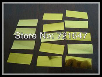Free shipping stage product or wedding confetti gold/silver paper for confetti machine confetti cannon colorful confetti paper