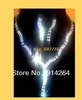 Wholesale6Sets Bridal/Prom Crystal Rhinestone Necklaces   free shipping