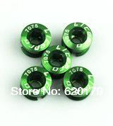 For Double Chainwheel Super Light Weight Litepro 7075 Bicycle Bike Chain Wheel Screw Black