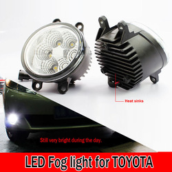 Free shipping New hot Good quality car part led Fog light for TOYOTA COROLLA EX Highlander Yaris ,PRIUS VIOS(China (Mainland))