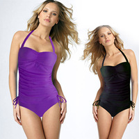 U.S.Brand single women's split swimsuit cover the belly Tankini Swimsuit