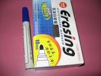 Red blue black whiteboard pen erasable pen