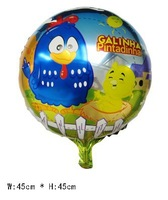 10 pcs Galinha pintadinha Helium balloons Kids birthdays party decorations supplies Inflatable toys for children, Party favors
