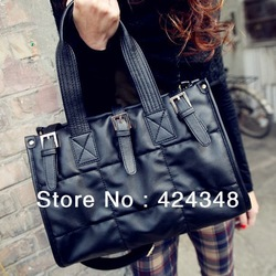 Fashion Satchel Retro Black Space Cotton Handbag Tote Shoulder Bag dual function bag Hobos women bag sac 2013 A81 Free Shipping(China (Mainland))