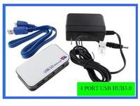 Power USB 3 HUB USB3.0 hub / hub 1 tow 4 high speed four port with power supply