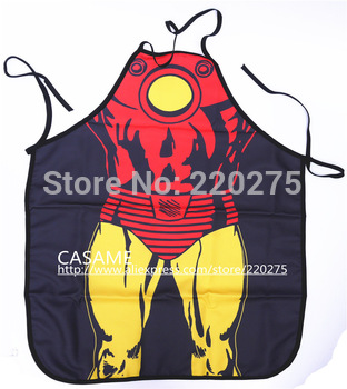 Freeshipping good quality ironman Be the Hero Apron Kitchen apron Novelty & Fun Apron