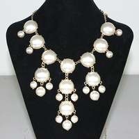 Simulated-pearl 2013 bubble necklace j . crw fashion accessories n223