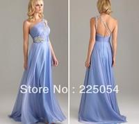 Beading Chiffon  Ball Formal Gown Evening Dress