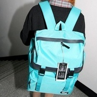 Bags 2012 female backpack middle school students school bag preppy style backpack travel bag