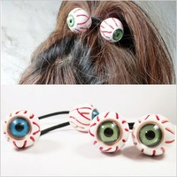 Min. order is $10 (mix order) free shipping 2013 new jewelry Fashion eyes headband hair rope bracelet personality hair accessory