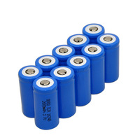 New 10 piece 2000mAh CR123A 16340 3.7V Li-ion Rechargeable Battey For Ultrafire LED Torch