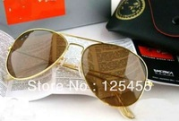 High Quality Men/Women's Brown sunglasses brand, Hot Products Sun Glasses, New Design with Box tag clean cloth 58mm