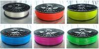 3D printer ABS filament,1 kg/3mm Transparent  for MakerBot/RepRap/UP.environmental-friendly!