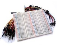 750-point Experiment Breadboard with Jumper Wires for arduino Uno r3 ,mega 2560,due,raspberry pi kits